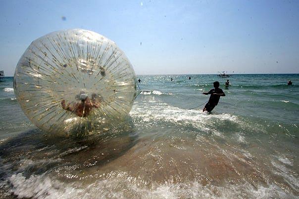 Развлечения на море
