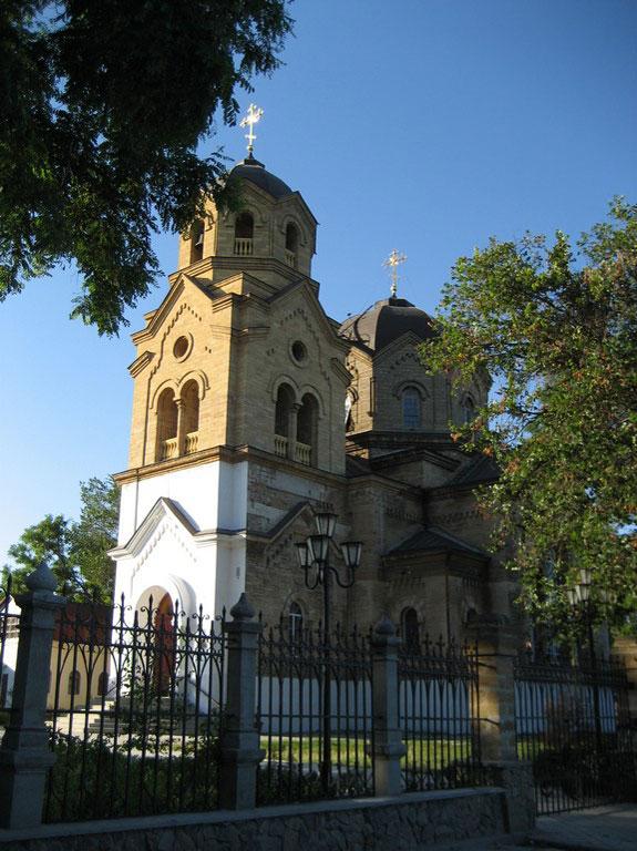 Греческая церковь в Евпатории