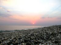 Новый пляж, вечер